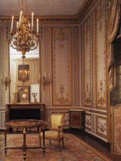 Marie Antoinettes study at the Versailles